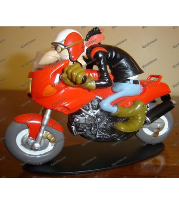 Joe Bar equipo Ducati 900 SS de 1992 figura la motocicleta de color rojo