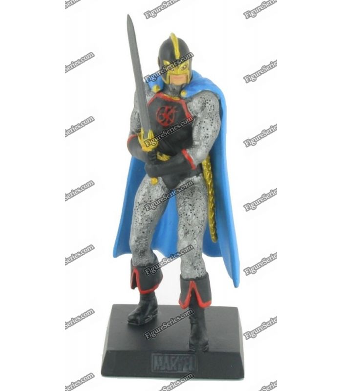 figure series figurine marvel en plomb black knight le. Black Bedroom Furniture Sets. Home Design Ideas
