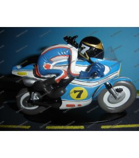 Resina en miniatura motos de Joe Bar Team SUZUKI 500 RG Barry Sheene deporte