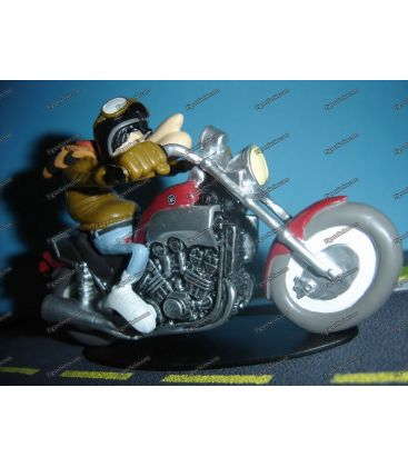 Figurine en resine Joe Bar Team MONTESA COTA moto trial