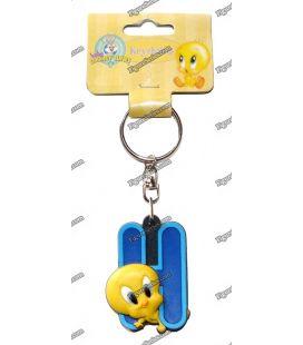 Porte clés TITI figurine WARNER BROS initiale H Looney tunes