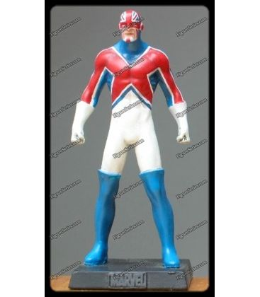 figure series figurine en plomb captain britain par marvel. Black Bedroom Furniture Sets. Home Design Ideas