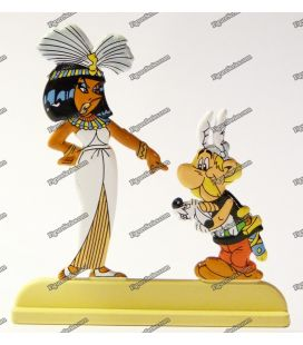 Estatuilla llevar archivos DOGMATIX Astérix y Cleopatra