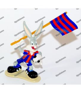 Figurine BUGS BUNNY FC Barcelone foot STAR TOYS 1996