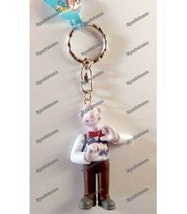Porte clés WALLACE & GROMIT figurine Démons et Merveilles