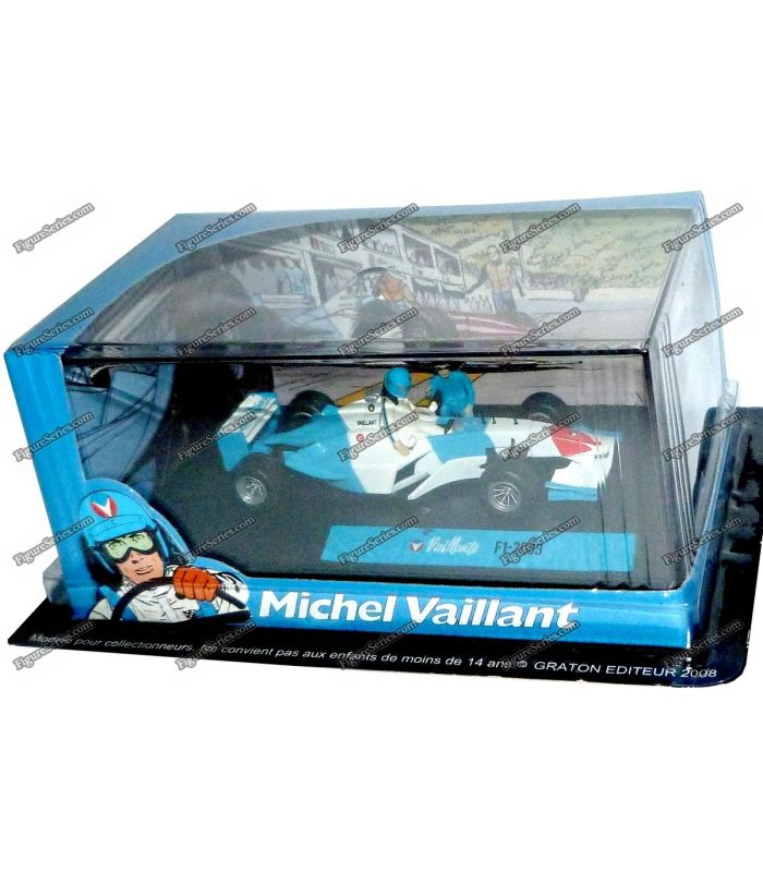 Figure Michel Vaillant Car Racing F1 2003 Formula 1 Auto