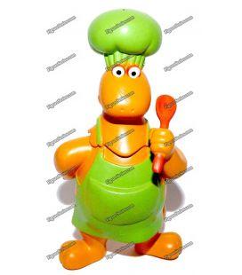 Figurine CASIMIR cuisinier de Flunch 2003 izard brunier