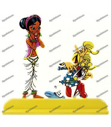 ASTÉRIX chez figurina RAHAZADE portare il Bard CACOFONIX
