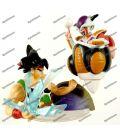 DRAGON BALL Z figurine diorama le ROI COLD et SANGOKU