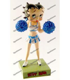 Figurine en resine BETTY BOOP pompom girl