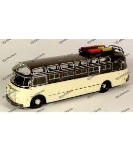 Autobus en metal autocar ISOBLOC 648 dp de 1955