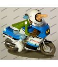 Figurine en résine TRIUMPH 650 BONNEVILLE 1961 Joe Bar Team