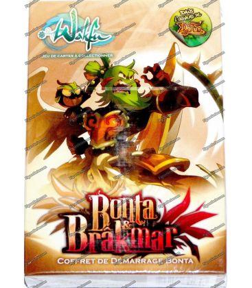 Baralho de cartas WAKFU acionador de partida BONTA BRAKMAR & pacote SRAM DOFUS Ankama