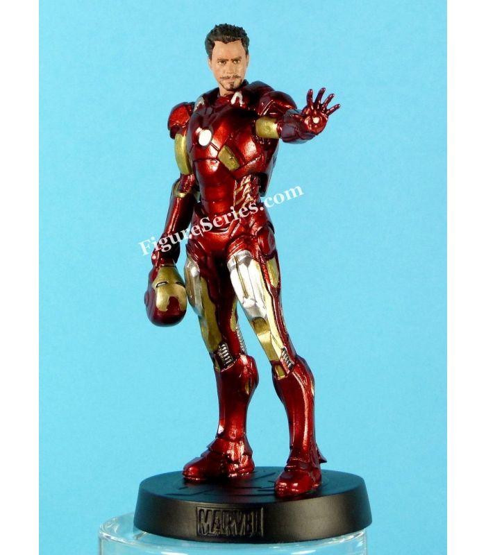 figurine en resine TONY STARK IRON MAN 3 armure MARVEL
