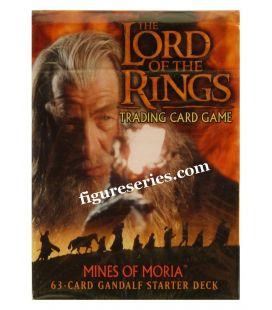 Cubierta de Señor de las anillos las minas de GANDALF de MORIA