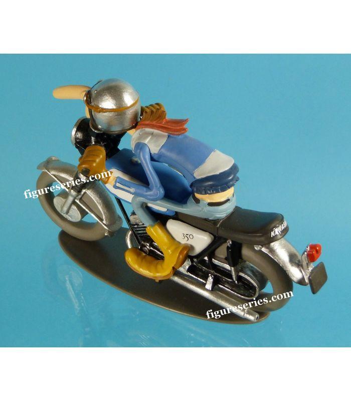 joe bar team lead demons and wonders figurine resin motorcycle japanese kawasaki avenger. Black Bedroom Furniture Sets. Home Design Ideas