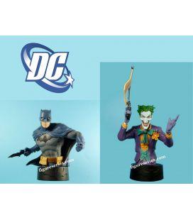 Lot 2 bustes en résine BATMAN et le JOKER figurines DC Comics