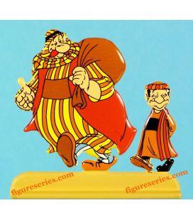 一个贝都因游牧 Asterix 奥德赛和 OBELIX 小雕像