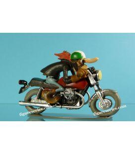 Resina figurina Joe Bar Team MOTO GUZZI V7 sport