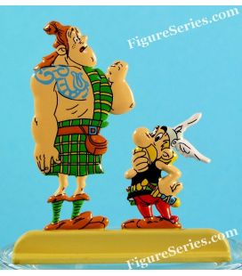 ASTERIX e la statuetta di metallo PICTS MAC OLOCH