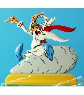 ASTERIX, Panoramix pazzo metallo figurine