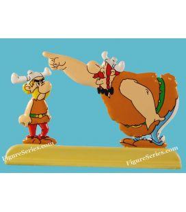 Astérix y Obélix en la estatuilla de metal de VIKING