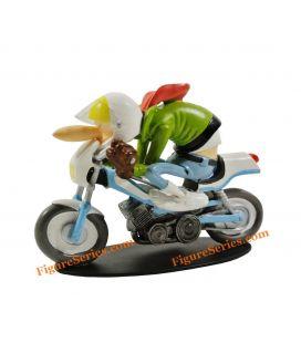 Figurita Joe Bar ciclomotor MBK Equipo 51 Deportes