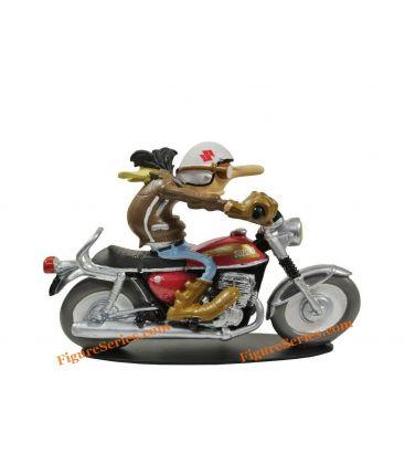 figurine joe bar team motorcycle suzuki t 500