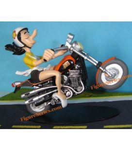 Chopper HARLEY DAVIDSON 883 motorfiets sportstrack resin joe bar team