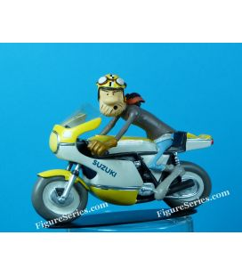 SUZUKI GS 750 motorfiets resin joe bar team