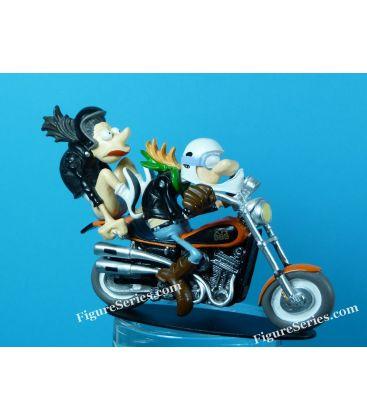 Harley Davidson 883 sportstrack moto joe bar team