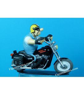 Harley Davidson 1450 dyna super glide custom moto joe bar team