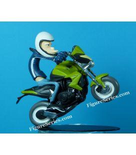 Equipe de bar joe de moto HONDA 1000 CB R