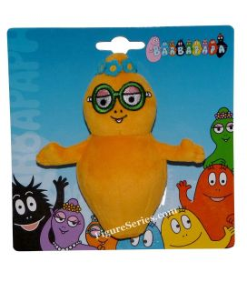 BARBAPAPA peluche Barbabébé fille orange BARBOTINE