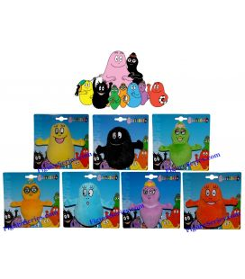 BARBAPAPA lot des 7 peluches enfant BARBABEBE