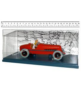 Tim und STRUPPI Auto rot Rennwagen die Zigarren des Pharaos 1/24 Auto