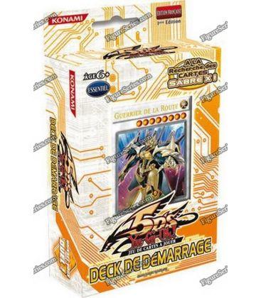 Deck de démarrage cartes Yu-Gi-Oh! GUERRIER DE LA ROUTE neuf