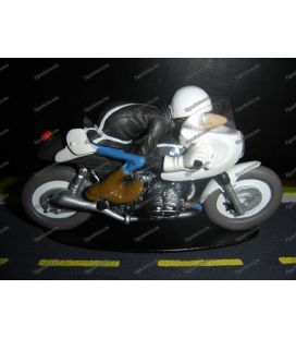 Joe Bar Team BMW spéciale Police interceptor figurine moto résine