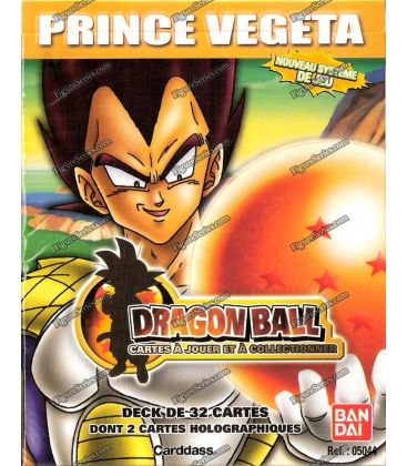DECK 32 Karten PRINCE VEGETA DRAGON BALL Starter