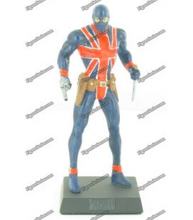 MARVEL figurina piombo UNION JACK comics numerate