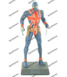 MARVEL figurine lead UNION JACK comics numbered