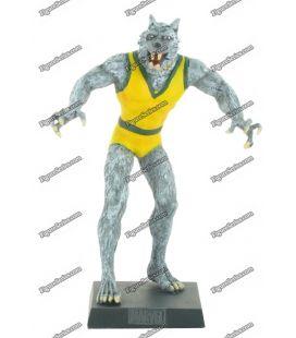 Figurine MARVEL en plomb WOLF MAN l'homme loup comics numérotée