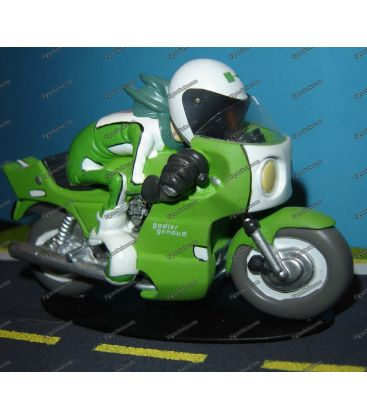 Miniature en résine Joe Bar Team moto sportive KAWASAKI 1000 godier genoud