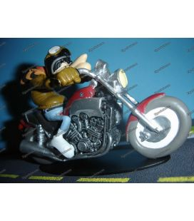YAMAHA 1200 V MAX figurine en resine Joe Bar Team moto