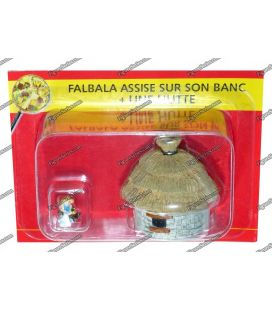 The VILLAGE of ASTERIX figure FAHAD and a no. 18 PLASTOY hut