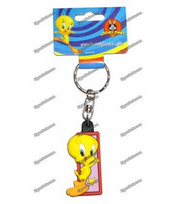 Porte clés TITI figurine WARNER BROS initiale B Looney tunes