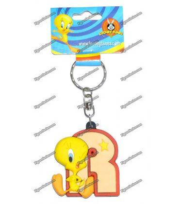 Porte clés TITI figurine WARNER BROS initiale I Looney tunes