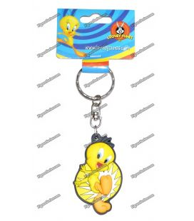 Keyring TWEETY happy WARNER Bros. Looney tunes figurine