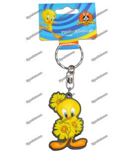 Sunflowers WARNER BROS Looney tunes figurine TWEETY key rings