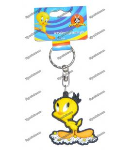 Daisies WARNER BROS Looney tunes figurine TWEETY key rings